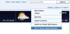 Yahoo! Webmail