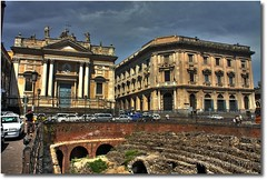 Catania - Piazza Stesicoro (HDR) (-Bandw-) Tags: wallpaper italy church digital canon eos rebel high italia churches sicily piazza wallpapers bandw range turismo hdr catania sicilia barocco xsi italiana trinacria italiane pgw sicile sizilien dinamic chiese sicili 3xp photomatix piazze siclia tonemapped  450d canoneos450d piazzeitaliane hdraddicted goldstaraward anticando canonefs1855mmf3556is thebestofday flickrsicilia digitalrebelxsi discoveryphotos hdraward hdrvillage bandwit wwwbandwit canoneos450ditalia  siciliainhdr