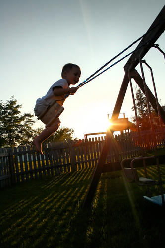 Swinging till the sun goes down