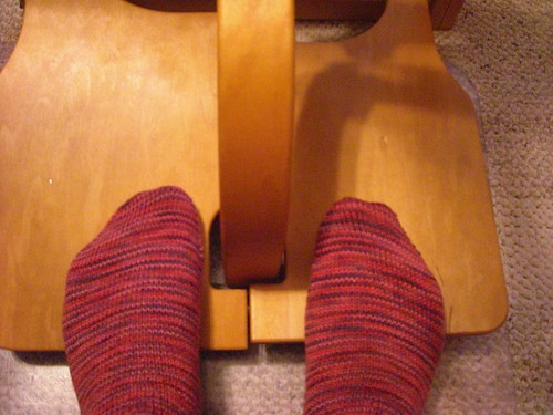 Test Knit Socks