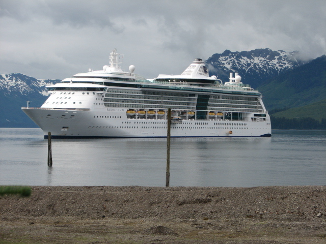 Radiance of the Seas in Hoonah, AK, July 2008