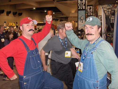 Did-a somebody call for plumbers?