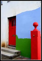 the front (thorgerdur mattia) Tags: houses color art colors catchycolors colorful paint painted reykjavk orgerur thorgerdurmattia orgerurmatta thorgerdur