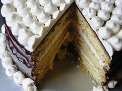 Filbert Gateau with Praline Buttercream (Dulcedo Blog) Tags: cake recipe three blog chocolate ganache picture layer apricot rum hazelnut filbert frosting gateau praline grandmarnier buttercream dulcedo