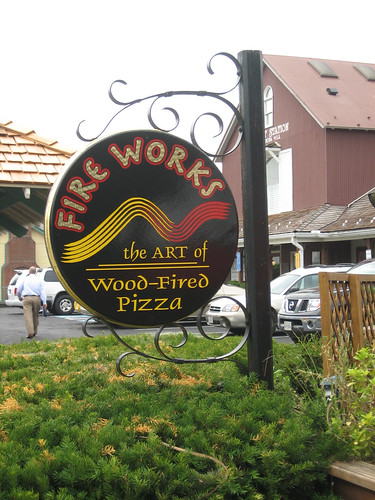 Fireworks Wood-Fired pizza
