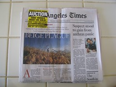 foreclosures are front page news
