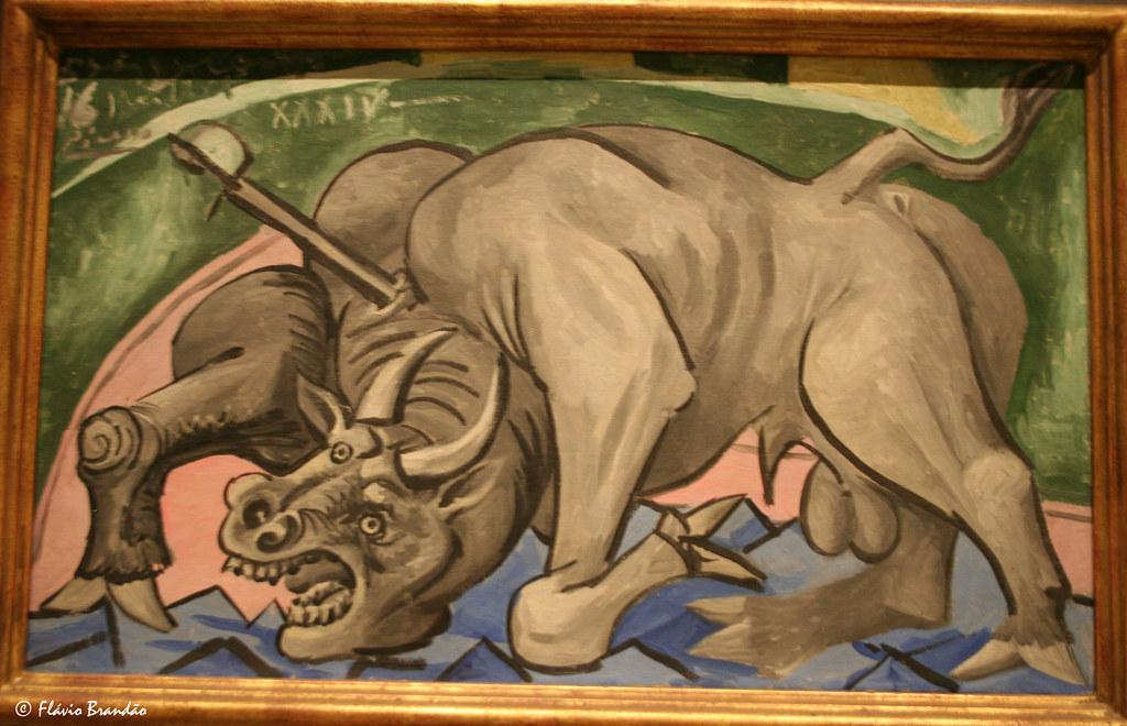 Dying Bull - Pablo Picasso - Série de Nova Iorque: o Museu de Arte Metropolitan - New York's series: The Metropolitan Museum of Art - IMG 20080727 8856