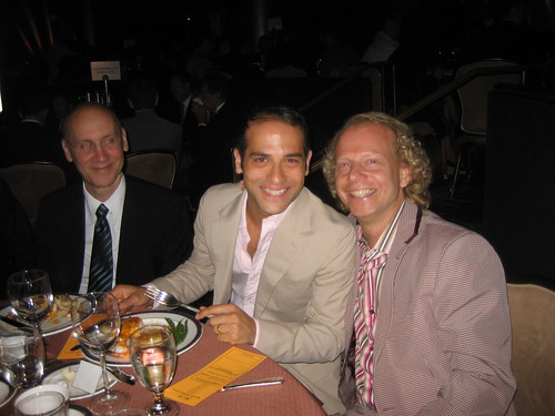 Gabriel Catone and Oscar-winning producer Bruce Cohen, recently returned from their honeymoon. They were married on June 23 by LA Mayor Antonio Villaraigosa at LA City Hall. Cohen's film on Harvey Milk is due out in the fall.