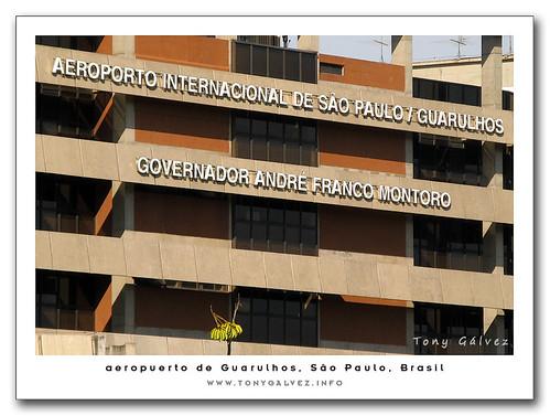 aeropuerto de Guarulhos, puesto 121 en ránking global