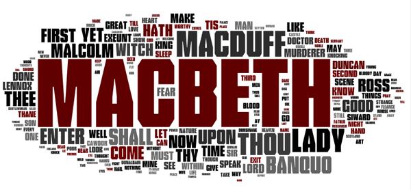 Macbeth via Wordle
