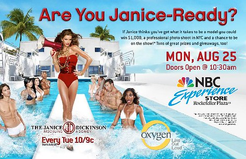 MEET JANICE DICKINSON at the NBC Experience Store