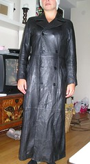 leather coat (Leather Lover) Tags: leather coat