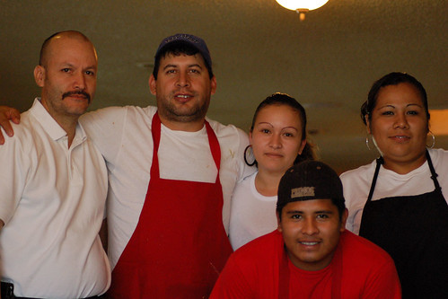 Workers at Mexico Lindo, Smithville, Texas
