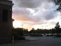 publix sunset 2 (blackcattips_2) Tags: atlanta sky sunshine weather clouds sunrise georgia skies meteorology cirrus cumulonimbus blackcattips nimbussunsets