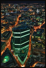 London, Aglow (William Said) Tags: city uk greatbritain england urban streets london thames bar night canon river rebel lights glow nightscape stpauls trails sigma wideangle hdr tower42 eagleeye vertigo42 photomatix 1530mm xti aplusphoto