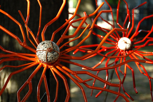 metalwork flowers