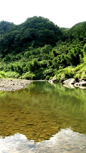 76.基隆河谷上陽光的漸層