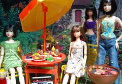 Amei's Break Is Over (Girl Least Likely To) Tags: fashion toys japanese miniatures backyard dolls dress vinyl barbecue sakura etsy wakeup rement summerdress snowwhite sophia diorama sekiguchi momoko knitwear amei sakina squeakymonkey asiandolls mamatoldme bootcutjeans slowsmile cangaway feltland dollscene caprijeans appleversion