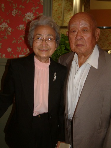 Helen Kim, left, of Sacramento, was active in the KNA in the 1930s.