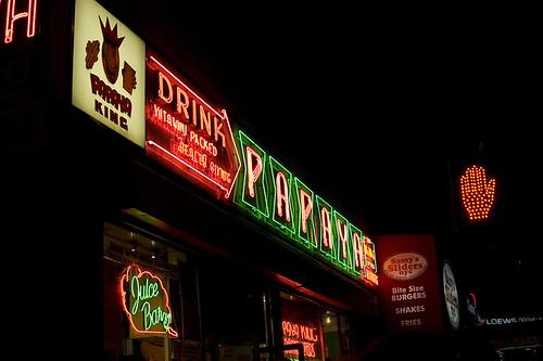 Papaya King Signs
