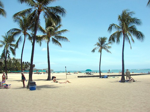 hawaii hilton hotel's beach