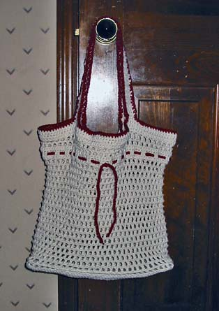 Crochet Pattern Central Bags : BAG CROCHET PATTERN STRING ? CROCHET PATTERNS