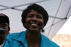Gwen Ifill at Invesco