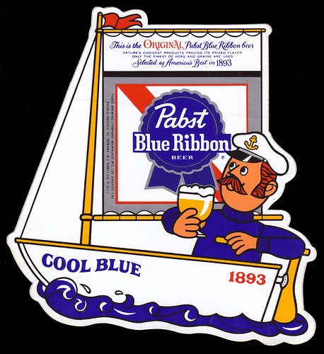Pabst Blue Ribbon - Cool Blue