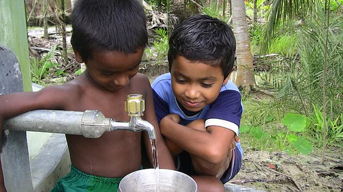 The joy of clean water. Image originally uploaded by Uncultured on Flickr