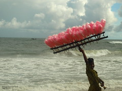Happy Go Lucky Guy :) (Ar.Shakti Nanda) Tags: sea sky colour beach boat perfect photographer candy olympus architect photograph nanda fishingboat 510 candies orissa shakti puri bej mywinners abigfave cutton ultimateshot shaktinanda
