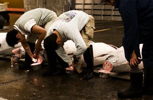 Detalles de Tsukiji