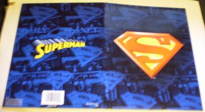 Exterior of my second Superman folder from 2006