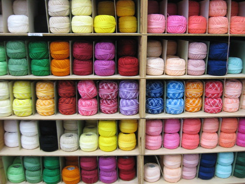 pick a thread by Willowpoppy