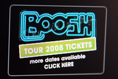 The Mighty Boosh live tour advert
