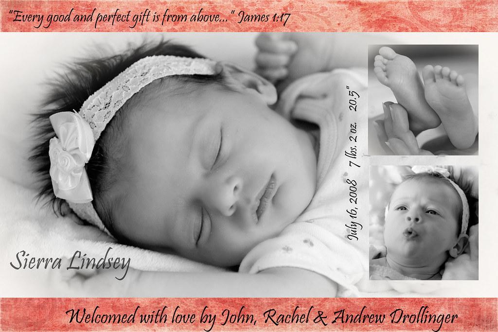 sierra birth announcementFINAL