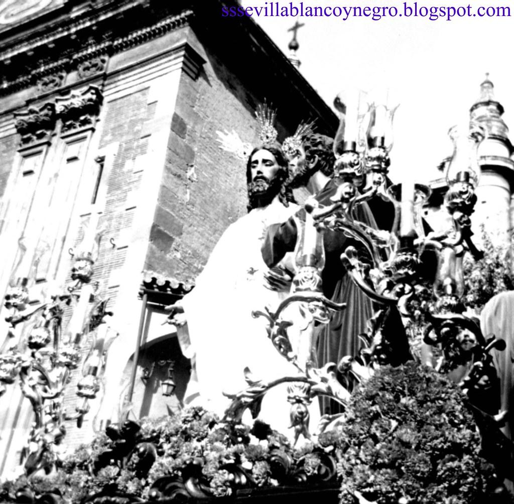 Nuestro Padre Jesús de la Redención en el Beso de Judas 1975
