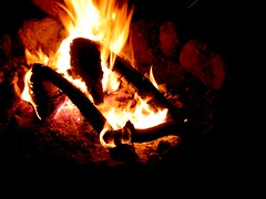 Campfire (Generik11) Tags: ca camping places twinlakes
