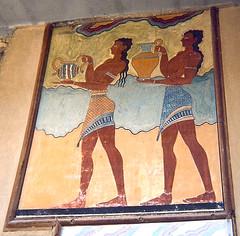 Frescoes from Knossos (radiowood) Tags: frescoes fresco crete knossos minoan