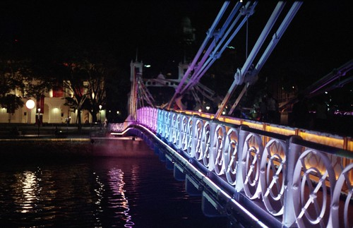 Singapore River Festival - Cavenagh Bridge