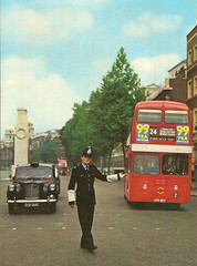 London (Metropolitan) Police Officer, Whitehall, London, SW1 UK (sgterniebilko) Tags: bus london austin traffic taxi police cenotaph metropolitan whitehall taxicab scotlandyard fx4 alphadelta adivision ukpolice 99tea cannonrowpolicestation