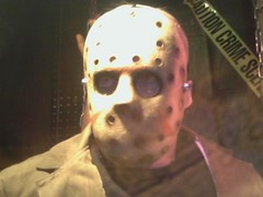 Animatronic Jason at Spirit Halloween