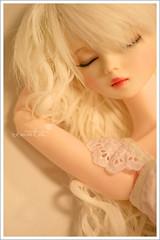 Ocane (r e n a t a) Tags: sleeping macro canon toy doll brinquedo large dreaming ciel bjd resin resina boneca f03 balljointeddoll closedeye 60cm musedoll
