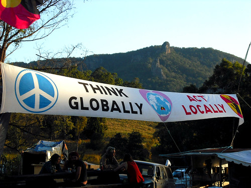 think globally, act locally by you.
