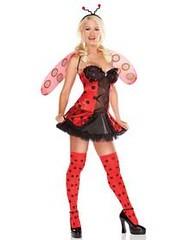 Playboy Lucky Ladybug Adult Costume