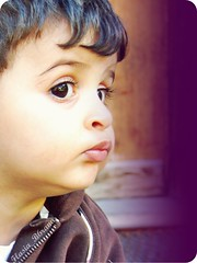 (flasiab6rana iz BACK xD) Tags: baby reflection cute eye swiss        7a9ory