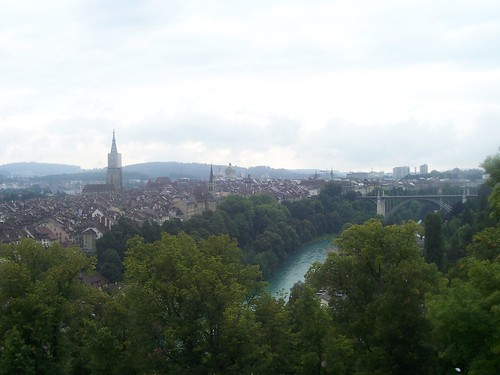 View of Bern from the Rosengarten