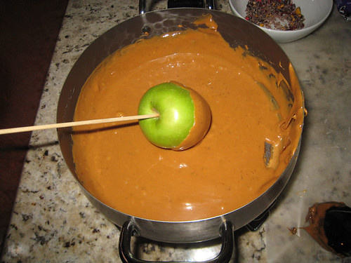 Making Caramel Apples