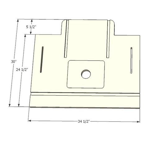 Router Table Top Sketchup