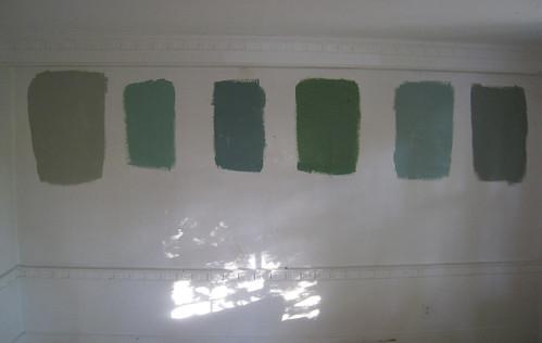Green Paint Options