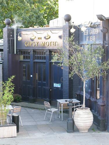 Gipsy Moth in Greenwich